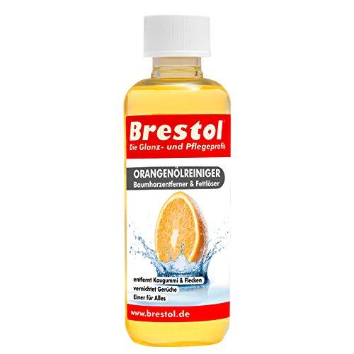 Brestol sinaasappeloliereiniger 300 ml - universele reiniger vet olie kauwgom boomhars verwijderaar boomharsverwijderaar geurneutraliseerd