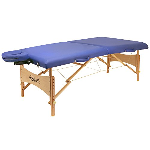 Buy Bargain Master Massage 27 Brady Pro Portable Massage Table in Sky Blue