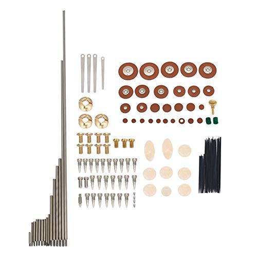 BQLZR Woodwind Repair Tool Tenor Saxophone Pads Rollers Screws Nuts...