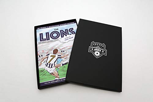 Millwall FC Premium Personalised Football Comic Book by Soccer Star Idea for Football Fans of All Ages - Birthday, Christmas, Father's Day Present