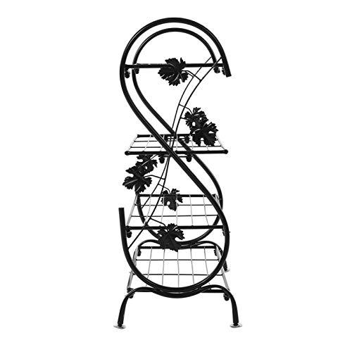 Omabeta Zapatero de Metal para decoración del hogar, Resistente al óxido, Estante de Almacenamiento de Zapatos para Entrada, balcón, Dormitorio