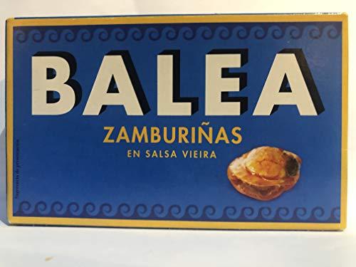 ZAMBURIÑAS DE GALICIA EN SALSA VIEIRA RR-125 (12LATAS)