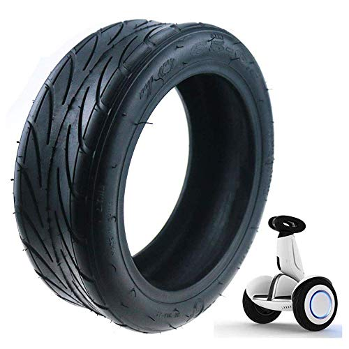 Linghuang Elektroroller Reifen, 70-65-6.5 Vollreifen, kein Schlauch, kein Aufpumpen erforderlich, Solid Tire für Xiaomi Electric Ninebot Scooter Moto Bike (2 Stücke)