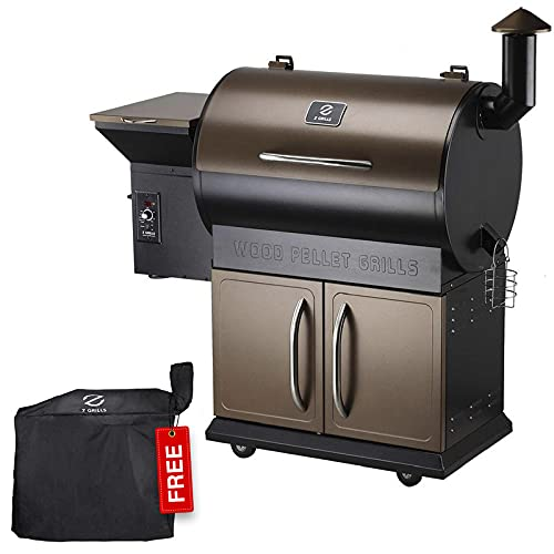 Z GRILLS 700D Wood Pellet Grill & Electric Smoker BBQ Combo with Auto Temperature Control | 2021 Upgrade | 694...