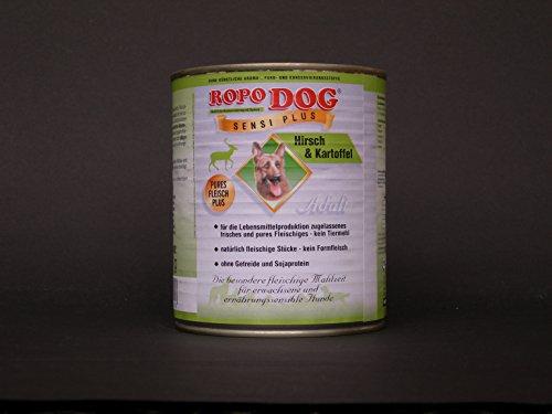 RopoDog 30 Dosen à 800 gr Adult Sensi Plus Hirsch Kartoffel