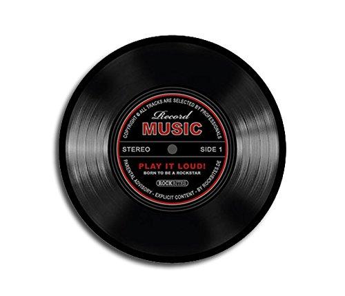 Tappetino a forma di disco in vinile 20 cm