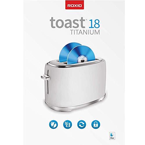 Roxio Toast 18 Titanium | DVD Burner & Digital Media Suite [Mac Download] [Old Version]