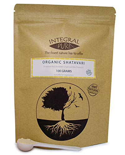 Shatavari Powder | Organic Certified | Asparagus Root Powder (100g)