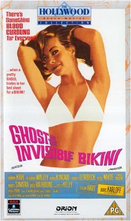 The Ghost in the Invisible Bikini [VHS] [1966]