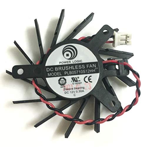 Miwaimao PLB05710S12HH 50MM DC 12V 0.3A VGA Card Fan Cooler ATI Radeon HD5550 5570 5670 V4800