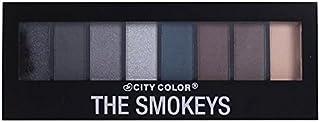 (6 Pack) CITY COLOR The Smokeys Eyeshadow Palette (並行輸入品)
