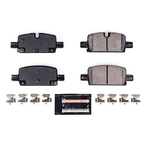 Power Stop Z23-2174 Z23 Evolution Rear Carbon-Fiber Ceramic Brake Pads