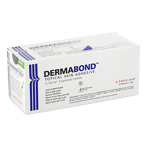 DERMABOND HVD mini topischer Hautkleber Ampullen 12 St