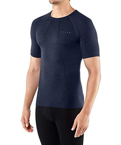 Falke Wool Tech. Comfort Fit M SS SH Camiseta de Manga Corta, Hombre