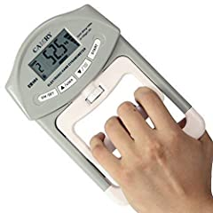 ACCURACY - Equipped with high precision strain gauge sensor, the hand dynamometer gives you accurate momentary digital reading of gripping power. Measuring Capacity: 198lbs / 90kgs; Division: 0.2lbs / 0.1kgs USER FRIENDLY - Squeeze the hand dynamomet...