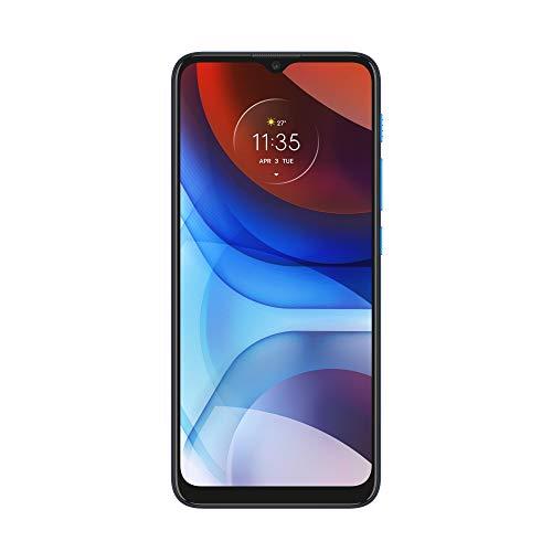 "Motorola moto e7 power (batteria 5000 mAH, dual camera 13 MP, Display 6.5"" Max Vision, 4/64 GB, Dual SIM, Android 10), Tahiti Blue"