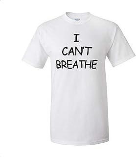 Kapmore Letter Pattern Shirt Comfortable Cotton Tee Shirt Crew Neck Shirt for Men