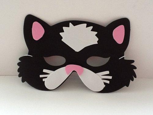 Foam Cat Mask (eva Soft Foam) For Fancy Dress