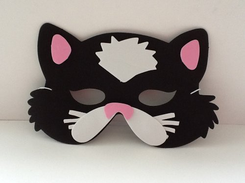 Foam Cat Mask (eva Soft Foam) For Fancy Dress