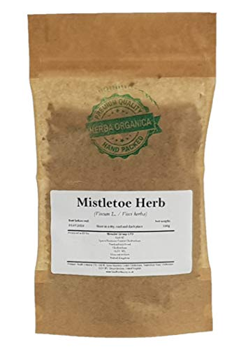 Herba Organica Maretak Kruid - Viscum Album L / Mistletoe Herb (100g)