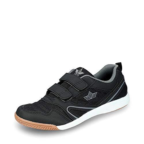Lico Unisex-Kinder Boulder V Multisport Indoor Schuhe, schwarz/anthrazit, 28 EU