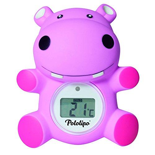 Thermomètre de bain digital Pololipo rose - Visiomed