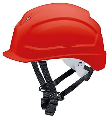 Casco de Obra Pheos S-KR - Protección en el Trabajo - Protección de la Cabeza - Casco de Seguridad con Adaptadores Laterales Euroslot para Orejeras