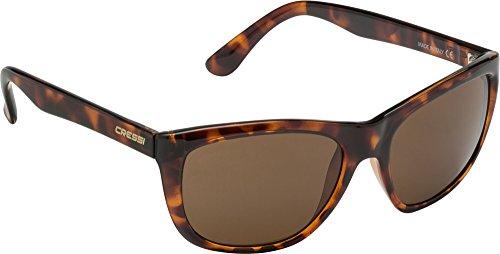 Cressi - Gafas de Sol Deportivas, para Adulto, Cristales Polarizados 100% anti-UV