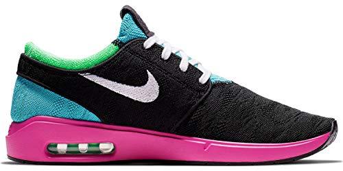 Nike Herren Air Max Janoski 2 Skateboardschuhe, Schwarz (blk/wht-Cabana Schwarz), 42 EU