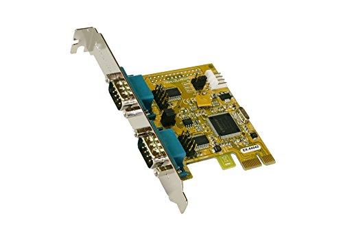 EXSYS EX 44042 2 SchnittstellenkarteAdapter SchnittstellenkartenAdapter PCIe PC