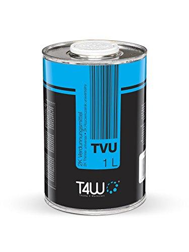 T4W TVU Universal Verdünnung für Autolack - 3x 1 Liter (59082)