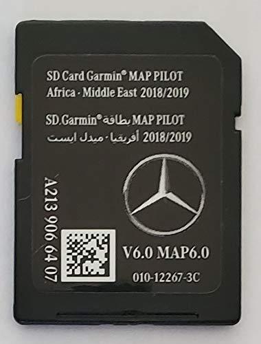 A2189065503 Garmin tarjeta SD Mercedes Sat Nav tarjeta SD tarjeta Mercedes Benz SD 2019 Tarjeta SD de Mercedes Sat Nav Garmin Map Pilot STAR2 v12 Europa 2019