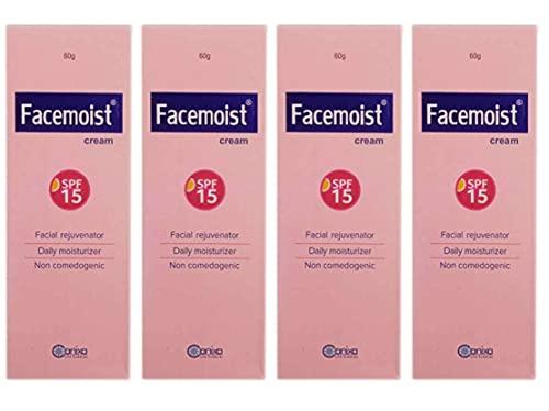 Facemoist cream - Best face cream for dry skin(pack of 4)60g