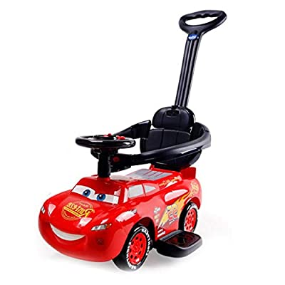 Carritos y sillas de paseo Twist Car 1-3 Años De Edad Child Car Hand Push Yo Car Infant Baby Universal Rueda Swing Girl Car Baby Cochecito De Paseo Walking Car Silent