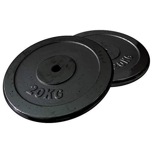 FIELDOOR ブラックアイアンダンベル 10kg 20kg 15kg 30kg 20kg 40kg 30kg 60kg 標準シャフト径28mm ハードロックカラー ゆるまないカラー標準装備 ジョイントシャフトで連結可能 (別売り20kgプレート×2セッ