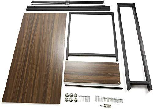 Dripex Holz Schreibtisch Computertisch 120x60x120cm PC-Tisch Bürotisch Officetisch Stabile Konstruktion Tisch für Home Office Schule 3