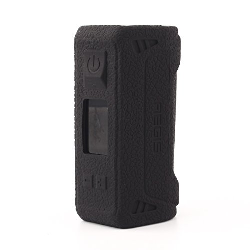 Protective Case for GeekVape Aegis Mod 100w TC Silicone Skin Gel Sleeve Wrap Fits GeekVape Aegis Mod 100w TC Mod Box,Black