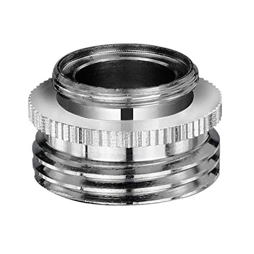 YDmeet Sink Faucet Adapter to Garden Hose, Faucet Hose Adapter for Male 13/16-Inch to Male 3/4-Inch or Female 13/16-Inch