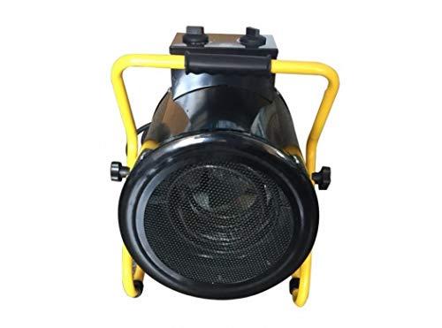 NIVEL Calefactor Eléctrico Industrial Trifásico Potencia 5000W 400V con Termostato Ajustable IP24