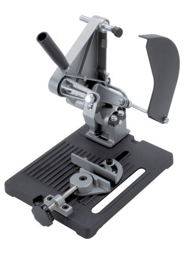 Wolfcraft 5019000 - Soporte para Cortar para Amoladora Angular diámetro 115 y 125 mm, 1 W, negro