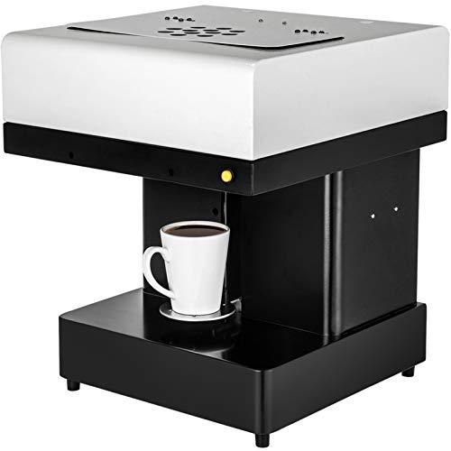 VBENLEM Coffee 3D Printer Machine With Latte Art Maker, Selfie Milk Tea for Chocolate, Cookies, Small, Cake Store
