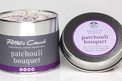 Potters Crouch Boîte à Bougie Motif Patchouli