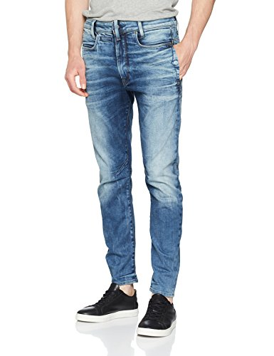 G-STAR RAW Herren D-Staq 3D Slim Jeans, Blau (medium Aged 8968-071), 32W / 34L