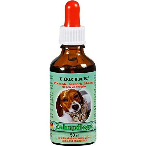 FORTAN Zahnpflege für Hunde & Katze, 50 ml Lösung