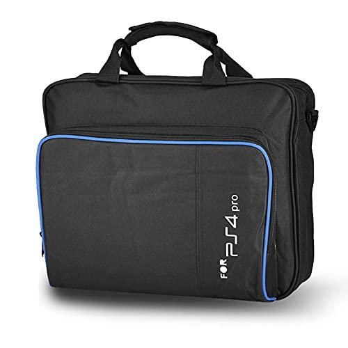 Custodia per il trasporto, custodia portatile per PlayStation, custodia da viaggio, borsa a tracolla, compatibile con PlayStation PS4, PS4 Pro, console, PS4 Slim