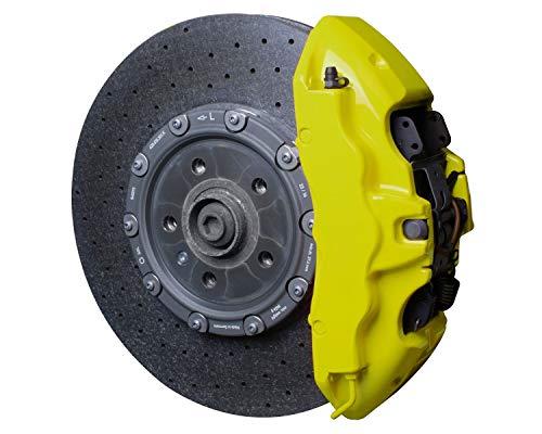 Foliatec 2184 Bremssattel Lack Set, neon gelb