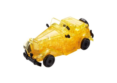 Crystal Puzzle 53 Piece Classic Car Yellow 50158 (japan import)