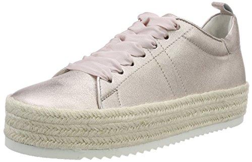 Kennel und Schmenger Damen Hill Low Top Sneaker, Beige (Nudo Bastsohle Weiß), 39 EU