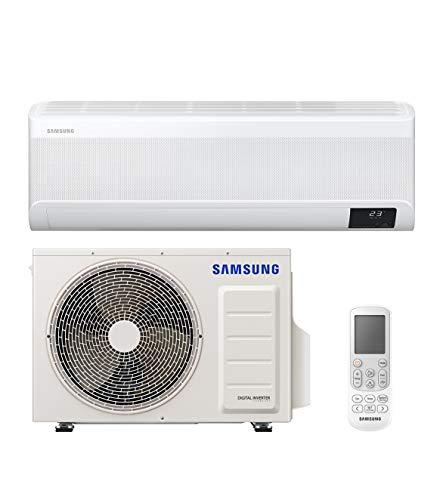 Samsung Clima WindFree Elite Climatizzatore Monosplit, 9000 BTU, SmartThings e Intelligenza Artificiale, WiFi, GAS R32, AR09TXCAAWKNEU+AR09TXCAAWKXEU, [Classe di efficienza energetica A+++/A+++]