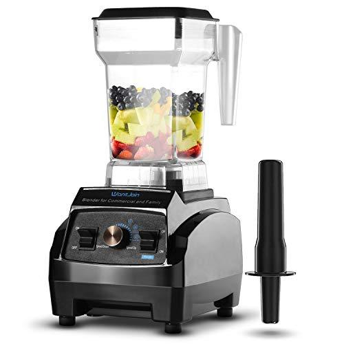 Frullatore Professionale, WantJoin Blender Professionale con Contenitore in Tritan da 1,8L, 2000W alta Potenza, Miscelatore di Cibo per Frullati e Shakes, Frozen Desser